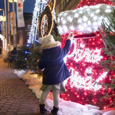 La boite au lettre du Père Noël