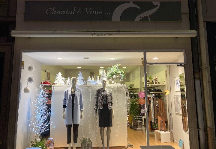 Chantal et vous
