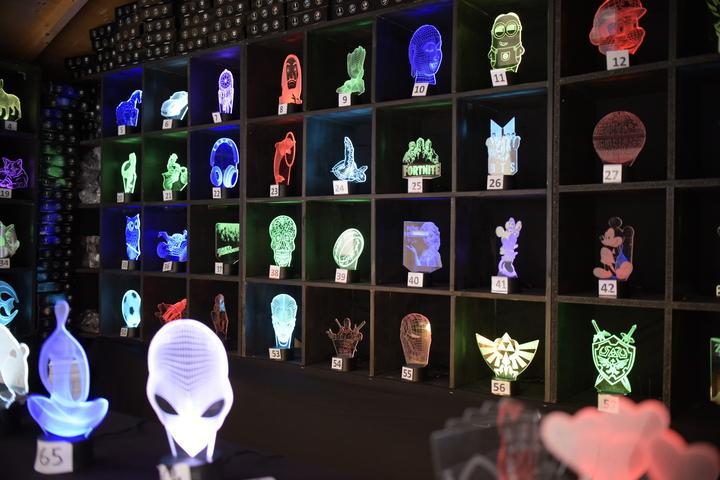 Le génie de la lampe 3D